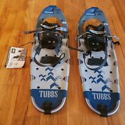 Menand039s Tubbs Venture 25 Snowshoes Navy/grey - Pre-owned But Never Worn