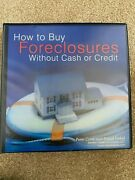 Peter Conti And David Finkel How To Buy Foreclosures Manual With 23 Audio Discs