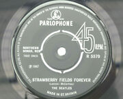 Rare Beatles Strawberry Fields Forever 1972 Polo Ring No Sold In Uk Siuk Text