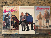 John Candy Vhs Bundle- Planes Trains And Automobiles/uncle Buck/great Outdoors