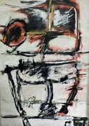 To Paint 6 Abstract Painting Acrylic On Wood Panel By Enrique Corchon