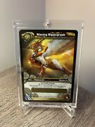 World Of Warcraft Blazing Hippogryph Unscratched Tcg Loot Card
