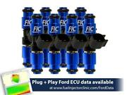 Fuel Injector Clinic 1650cc Fic Fuel Injector Set For Ford Raptor 2010-2014