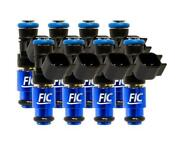 Fuel Injector Clinic 1650cc Fic Set For Ford Shelby Gt500 07-14/ford Gt40 05-06