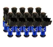 Fuel Injector Clinic 1440cc Fuel Injector Set High-z For Fic Bmw E60 V10