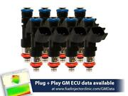 Fuel Injector Clinic 445cc 50 Lbs/hr Fp Fic Fuel Injector Set For Ls2 Engines