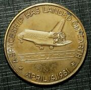 Token Space Shuttle, Columbia 1981 United States 216b