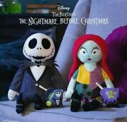Scentsy Buddy Jack And Sally With Scent Pak Disney Nib Nightmare Before Christmas