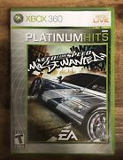 Need For Speed Most Wanted Platinum Hits Xbox 360 Complete