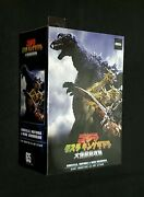 Neca Godzilla Gmk Giant Monsters All-out Attack Head To Tail Action Figure New