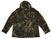 Polo Green Camouflage Military Large Camo Army Utility Jacket Coat
