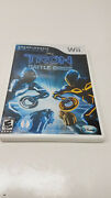 Tron Evolution Battle Grids Championship Wii Tested Complete Free Shipping