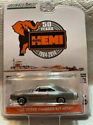 164 Greenlight Anniversary Collection - 1968 Dodge Charger R/t Hemi Raw Chase