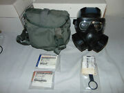 Avon M50 Gas Mask Cbrn Nbc Complete With Accessories Small 2