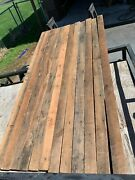 12 Reclaimed American Chestnut Blanks 1 7/8 X 3 3/4 X 96 Nails Removed 61bf