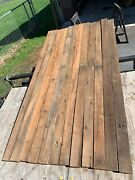12 Reclaimed American Chestnut Blanks 1 7/8 X 3 3/4 X 90 Nails Removed 58bf