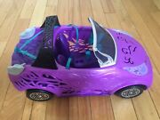 Monster High Scaris City Of Frights Purple Doll Car Vehicle Convertible