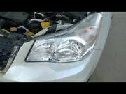Driver Headlight Chrome Background Halogen Fits 14-16 Forester 808379