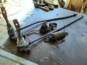 1965 Ford Thunderbird Deck Lid Screw Downlimit Switchcables And Motor.