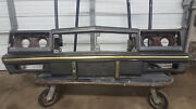 1981-1986 Chevrolet Monte Carlo Base Model Front Bumper And Header Panel Assembly