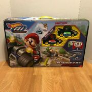 Mariocart Hotwheels A.i. Remote Control Cars And Track Special Edition