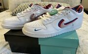 Nike Sb Dunk Low Parra Style Cn4504-100 Size 14 - New In Box