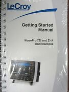 Lecroy Wavepro 7 Zi And Zi-a Oscilloscopes Getting Started Manual