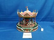 Lemax Village Collection Santa Carousel 34682 As-is Sc0062