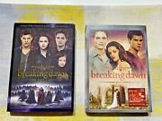 The Twilight Saga Breaking Dawn Part 1 And 2 Cds Excellent Condition