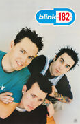 Poster Music Blink - 182 - All 3 Posed - Free Shipping 6531 Lp38 J