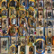 """Lot Of New Rare Lord Of The Rings Action Figures Collectable 6"""" And 14"""" Toybiz Bn"""