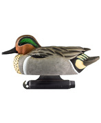 New Doa Decoys 450007 Refuge Series Greenwing Teal Floater - Pack Of 6