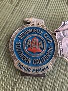 Vintage Aaa License Plate Topper California