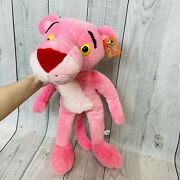 New With Tags Rare Huge 29 Pink Panther Plush 1998 Toy Network Large Stuffed