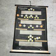 Vintage German Chart Medical Interior Design Made In Germany Wall Antique Scroll