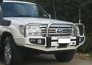 4x4 Stainless Loop Deluxe Bullbar For Toyota Land Cruiser 100 Series Ifs