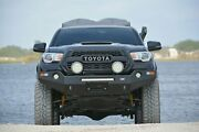 4x4 Front Winch Bumper For 2016 To 2018 Toyota Tacoma 4x4 - Bare Steel Dobinsons