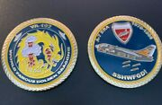 Va-192 Golden Dragons A-7 Challenge Coin - Large And Beautiful - Free Shipping