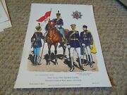 Antique Military Uniforms In America Color Prints- 100 Total Your Choice