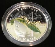 2014 3 Animal Architects-caterpillar And Chrysalis Fine Silver Coin
