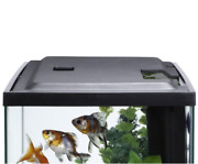 10 Gallon Fish Tank Hood With Led Light Aquarium Cover With Easy Access Cutouts