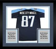 Framed Kevin Dyson Signed Tennessee Titans Jersey And Multiple Inscs - Fanatics