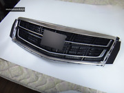 Front Bumper Radiator Grill Upper Grille With Emblem For 2013-2017 Cadillac Xts