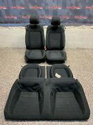 2017 Ford Mustang Gt Oem Front Rear Cloth Seats