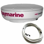 Raymarine Rd424hd 4kw Digital Radar Dome With 10m Cable T70169