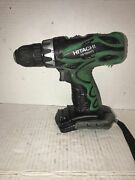 Hitachi Cordless Drill Driver 14.4v Ds14dvf3bare Tool Only Free Shipping