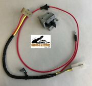 New 1965-1967 Chevelle/malibu Convertible Top Switch W/ Housing And Wiring Harness
