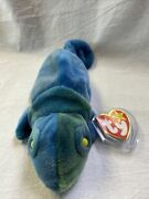 Rainbow, 1997 Retired Beanie Baby. Pvc Pellets. Mint Condition.