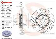 For Mercedes-benz C63 Amg Cls63 Amg E63 Amg Front Set Of 2 Disc Brake Rotor