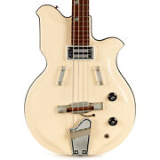Vintage National Val-pro 85 Bass Snow White 1965